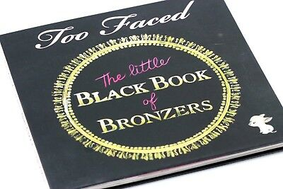 Too Faced The Little Black Book Of Bronzers Palette New W/o Box !!!