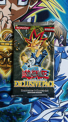 Yugioh Exclusive Pack Booster Deutsch (OVP)
