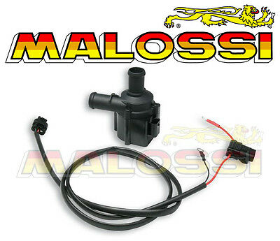 """Water Pump Electric Malossi Energy Pump """" Motorcycle Scooter Moped New"""