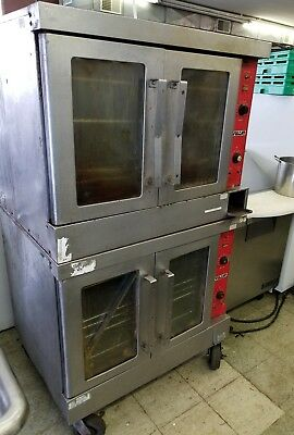 Vulcan Electric Full Size Double Stack Convection Oven