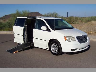 2010 Chrysler Town & Country Touring Wheelchair Handicap Mobility Van 2010 Chrysler Town & Country Touring Wheelchair Handicap Mobility Van Best Buy