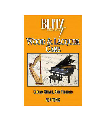 Blitz Treated Polishing Cloth for Lacquer