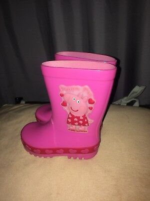 Mother-care child Size 4 Pink Peppa Pig Wellington Boots