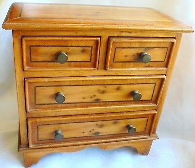 Antique or Vintage small apprentice piece chest of draws