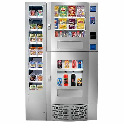 Office Deli Combo Soda Snack Vending Machine *BRAND NEW* factory boxed