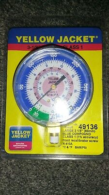 Yellow Jacket R410a Low Pressure Gauge
