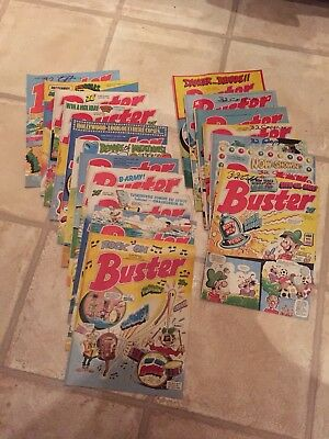 Buster Comics X 18 - First 07.01.88 Last 31.12.88