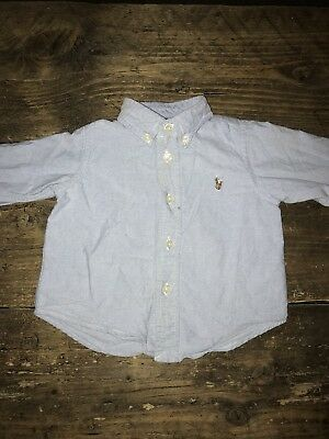 Boys Ralph Lauren Shirt 12 Months