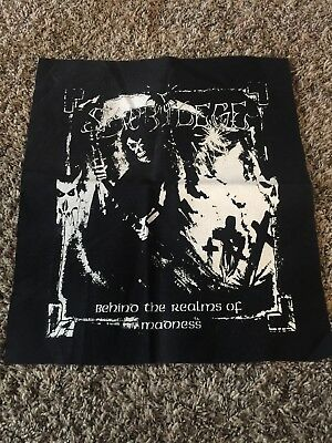 Sacrilege Behind The Realms Of Madness Back Patch Crust Punk Metal