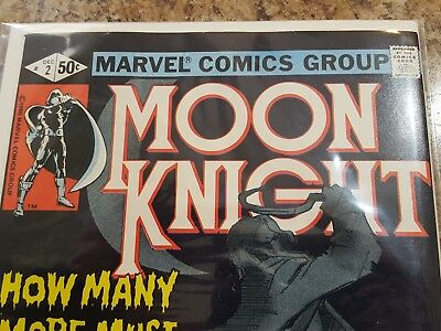 Moon Knight 2, Nice High Grade Book! Show Coming Soon! Cgc This Book! L@@k!