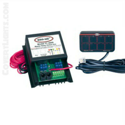 NEW Sho-Me 4 Function Undercover Switch Box & Mini Controller