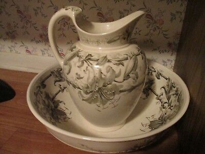 BWM &Co. Victorian Jug and Bowl
