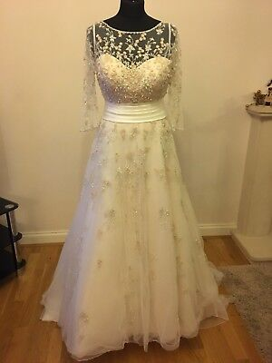 Ronald Joyce Beautiful Wedding Dress Size 10