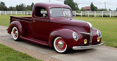 1940 Ford TRUCK  1941 FORD TRUCK STREET ROD-RESTO-MOD all new (COLD A/C) hot rod  1940 1941 FORD