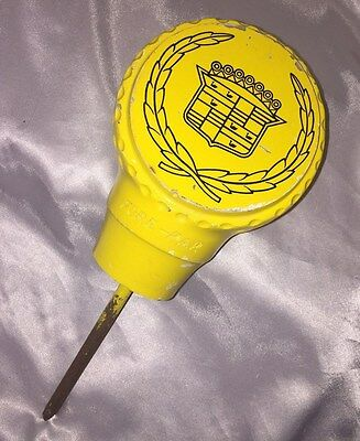 "VINTAGE FORE PAR TEE MARKER FOR CADILLAC SPONSORED TOURNAMENT, 11"",1980s, 2+lbs"