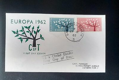 Ireland Stamps Europa 1962
