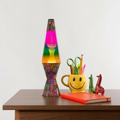 Lava Lamp Relaxing Light with Paintball Decal Base 145Inch Colormax Home Office