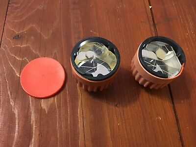 Lot Of 2 Prisms For Total Station Surveying