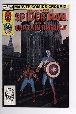 Bronze Age Marvel Team Up 128 Mid Grade Spider-Man Daredevil Combined Shipping