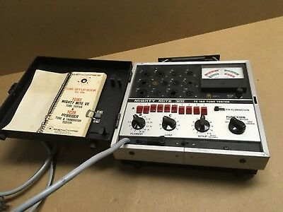 Sencore TC 162 Mighty Mite VII Tube Tester Not working