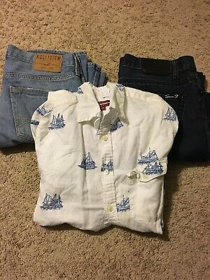 Mens Clothing Lot Size Small