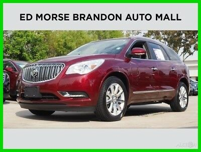 2015 Buick Enclave Premium 2015 Buick Enclave Premium 3.6L V6 24V All Wheel Drive Red