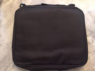Brand New Disney Hard Rock Custom Pin Bag Carrying Case 5 pages w/ strap