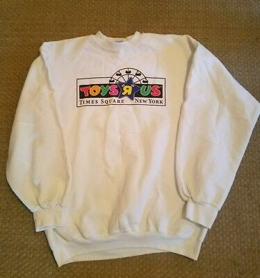 Vintage Toys r Us Sweatshirt Times Square New York Large Mint