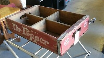Dr. Pepper Wooden Soda Crate