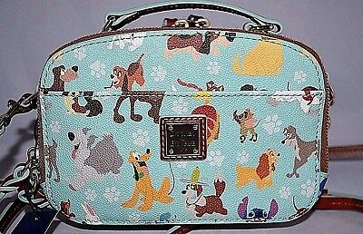 New 2017 Disney Parks Exclusive Dooney  Bourke dogs bag purse Ambler CROSSBODY