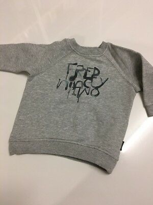 Fred Bare Grey Marle Wind heater Fed Ninety Two Size 1 Baby Boy