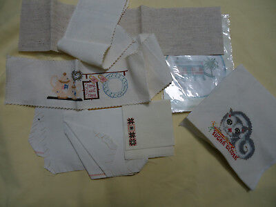 AIDA Bundle of Bits & pieces. 1 Kit, + 6 pieces various sizes + 1 completed.
