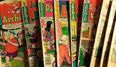 LOT OF 10 DIFFERENT ARCHIE COMICS Poor to Very Low Grade From 1974 to 1978