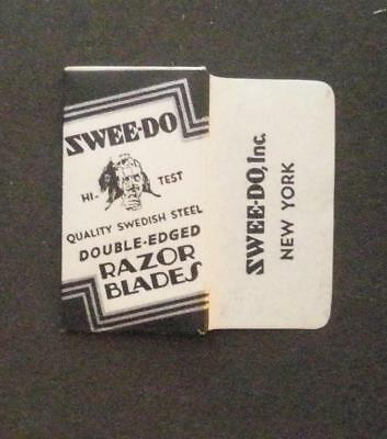 Vintage DE Made in USA Razor Blade SWEE-DO