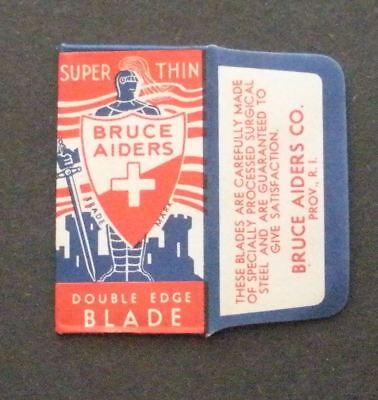Vintage Made in USA Razor Blade BRUCE AIDERS