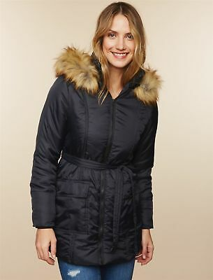 Modern Eternity 3 In 1 Quilted Parka Maternity Coat baby wearing brand new