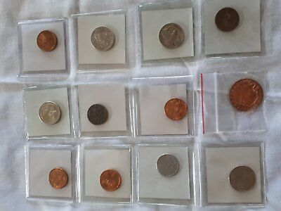 12 x USA Coins Uncirculated/Circulated