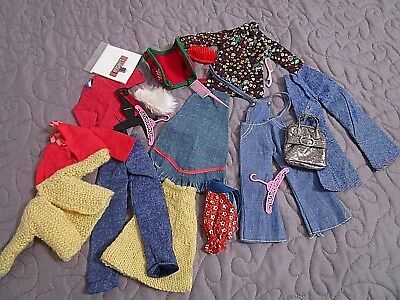 Big Lot of Clean, Nice Vintage Barbie Clothes and Accessories