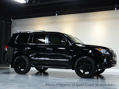 2013 Lexus LX 4WD 4dr 2013 LEXUS LX570 4WD BLK/TAN LUXURY PKG TV/DVD NAVI 8-PASS M/L SOUND PKG LOADED