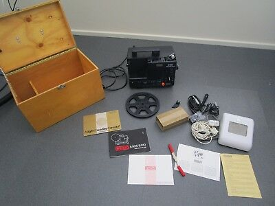 Eumig S910 8mm sound projector and accessories - a complete set-up!
