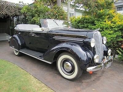 Dodge Tourer 1937 Mc Model 6 Cyl Fully Restored Not Ford Or Chev
