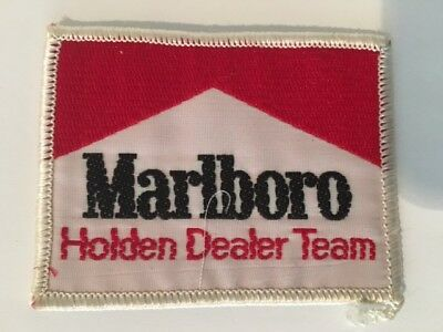 Marlboro Holden Dealer Team HDT Cloth Patch Peter Brock Bathurst ATCC Torana