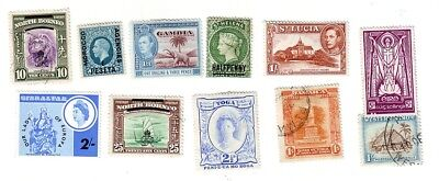 Old G.b.  Colonies   Mint & Used   Shillings & Other Values == 11 ==