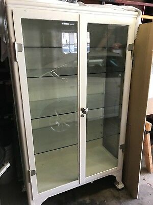 Antique Medical Apothicary Cabinet