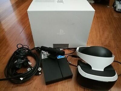 playstation 4 vr headset and ps4 camera