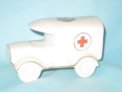 Shelley China WW1 Red Cross Van* - MARGATE crest