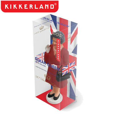 NEW Kikkerland 90th Birthday Limited Edition Solar Queen Elizabeth Special Red