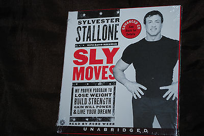 Sly Moves Unabridged - Rare Enhanced US Import CD Sylvester Rocky Rambo Stallone