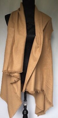 Roney Lulu Tan Long Vest. New With Tag