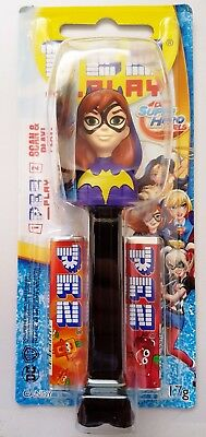 PEZ Candy Dispenser - DC Comics Batman Super Hero Girl BATGIRL - 17g Candy BNIP